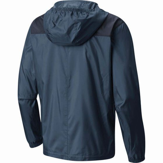 Columbia Men's Flashback Windbreaker Jacket, Whale / Collegiate Navy, bcf_hi-res