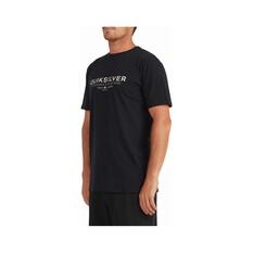 Quiksilver Waterman Men's Ocean Spray Short Sleeve Tee, Black, bcf_hi-res
