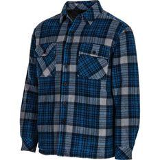 OUTRAK Men's Helmsman Jacket Blue Check S, Blue Check, bcf_hi-res