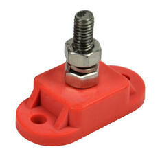 BEP Single Insulated 6mm Stud Red, , bcf_hi-res