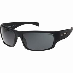 MAKO Escape Polarised Sunglasses Matt Black, Matt Black, bcf_hi-res