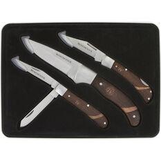 Tin Rosewood Knife Set 3 Piece, , bcf_hi-res