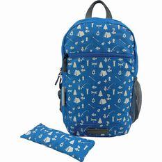 Wanderer Kids' Camping Fun Daypack 13L Blue, Blue, bcf_hi-res