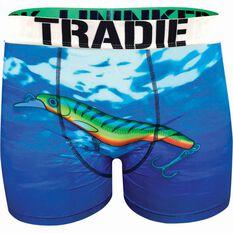 Tradie Men's Tempting Lure Underwear Print S Men's, Print, bcf_hi-res