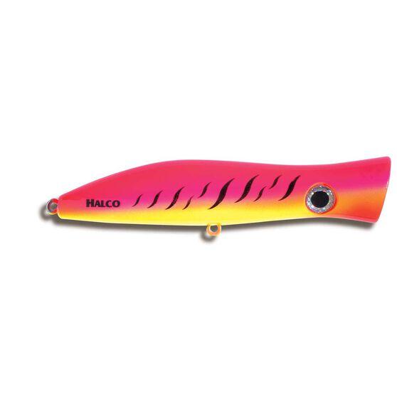 Halco Roosta Popper Surface Lure 105mm Pink Fluro, Pink Fluro, bcf_hi-res