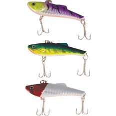 Rogue Trio Vibe Lure 3 Pack, , bcf_hi-res