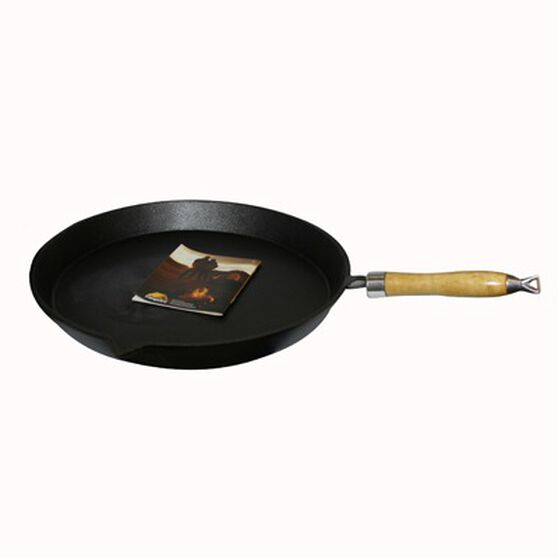 30cm Pre Seasoned Round Frypan, , bcf_hi-res
