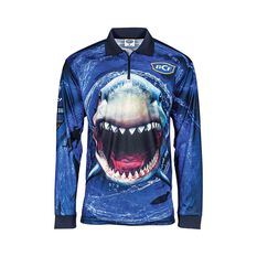 BCF Whirlpool Men's Sublimated Polo Blue S, Blue, bcf_hi-res
