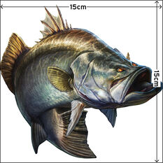 Savage Barramundi Sticker Small 2 Pack, , bcf_hi-res