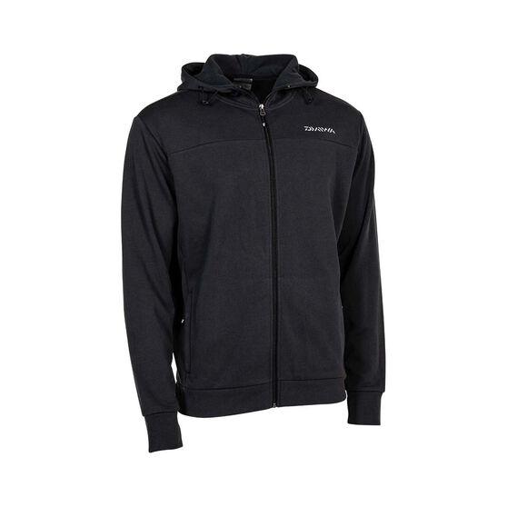 Daiwa Men's Active Fleece Jacket, Black, bcf_hi-res