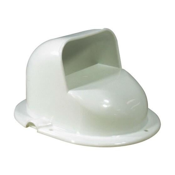 BLA 194x149x110 White Plastic Cowl Vent, , bcf_hi-res