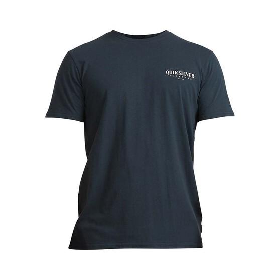 Quiksilver Men's StayTuna Short Sleeve Tee, Midnight Navy, bcf_hi-res