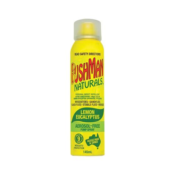 Bushman Naturals Insect Repellent Pump 145mL, , bcf_hi-res