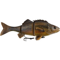 Savage 4D Redfin Line Through Soft Plastic Lure 24cm Yellow Belly 145g, Yellow Belly, bcf_hi-res