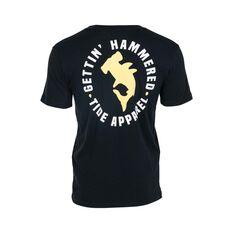 Tide Apparel Men's Hammered Tee Black S, Black, bcf_hi-res