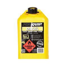 Pro Quip 20L Plastic Diesel Jerry Can, , bcf_hi-res