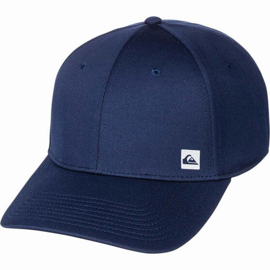 Quiksilver Waterman Men's Scotchmans Cove Cap Navy Blazer, Navy Blazer, bcf_hi-res
