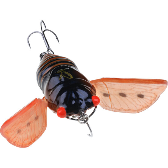 Savage 3D Cicada Surface Lure 4.8cm Brown, Brown, bcf_hi-res