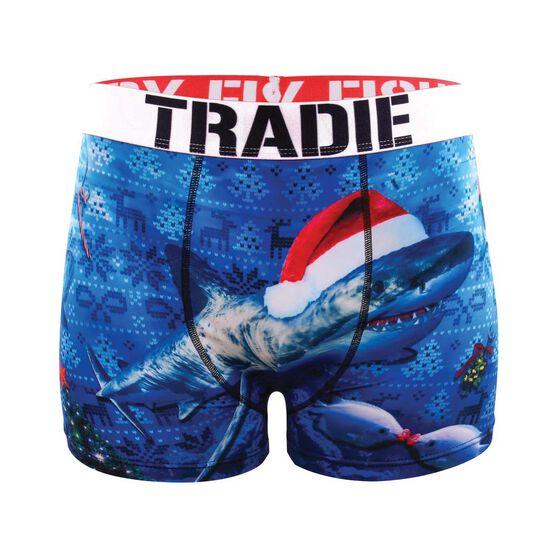 Tradie Men's Christmas at Sea Trunks, , bcf_hi-res