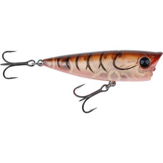 Savage Pop Prey Surface Lure 5cm Brown Shrimp, Brown Shrimp, bcf_hi-res