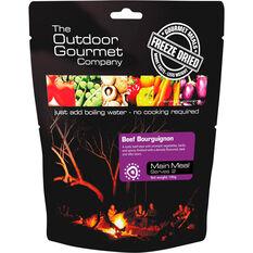 Outdoor Gourmet Company Beef Bourguignon Freeze Dried Food 2 Serves, , bcf_hi-res