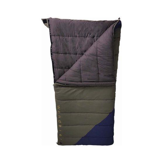 Wanderer Grand Macquarie Cotton Camper +3.2C Sleeping Bag, , bcf_hi-res