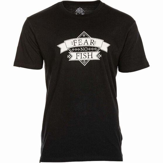 BCF THREADS Men's Fear Tee, Black, bcf_hi-res