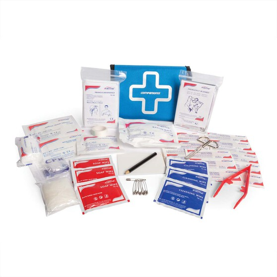 Companion Adventure First Aid Kit 63 Pieces, , bcf_hi-res