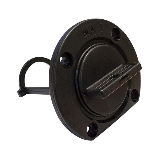 BLA Drainage Plug Full Kit 35mm Black, , bcf_hi-res