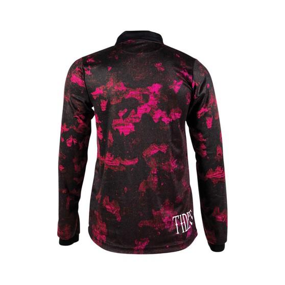 Tide Apparel Womens Camo print Fishing Jersey, Pink Camo, bcf_hi-res