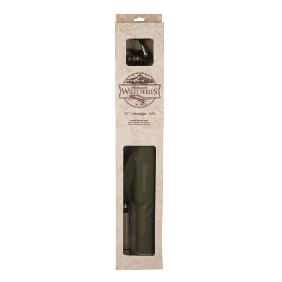 Shakespeare Wildseries Travel Spinning Combo 6ft 6in, , bcf_hi-res
