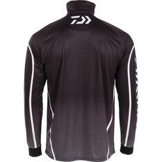 Daiwa Men's Team Sublimated Polo Black S, Black, bcf_hi-res