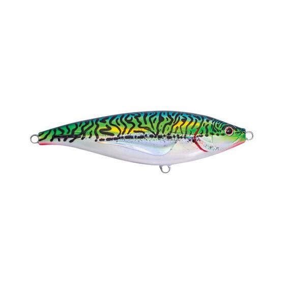Nomad Madscad Surface Stickbait Lure 19cm S Silver Green Mackerel, Silver Green Mackerel, bcf_hi-res