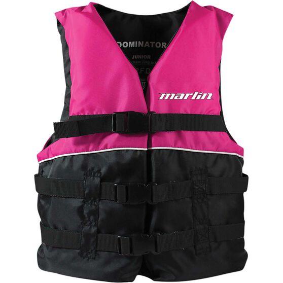 Marlin Australia Junior Dominator PFD 50S Pink, Pink, bcf_hi-res