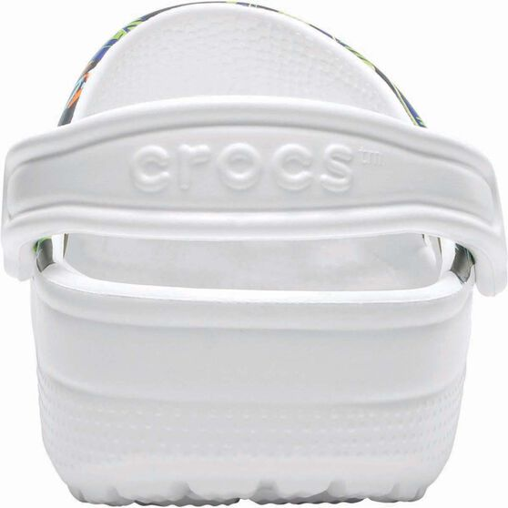 Crocs Unisex Tropical IV Clog, White, bcf_hi-res