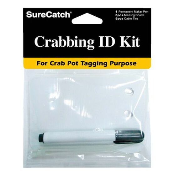 Surecatch Crab Pot ID Kit, , bcf_hi-res