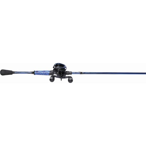 Abu Garcia Revo 4X Baitcaster Combo 6ft 6-10kg Blue, Blue, bcf_hi-res