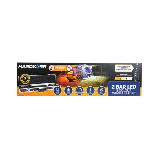 Korr 2 Bar Tri Colour LED Camp Light Kit, , bcf_hi-res