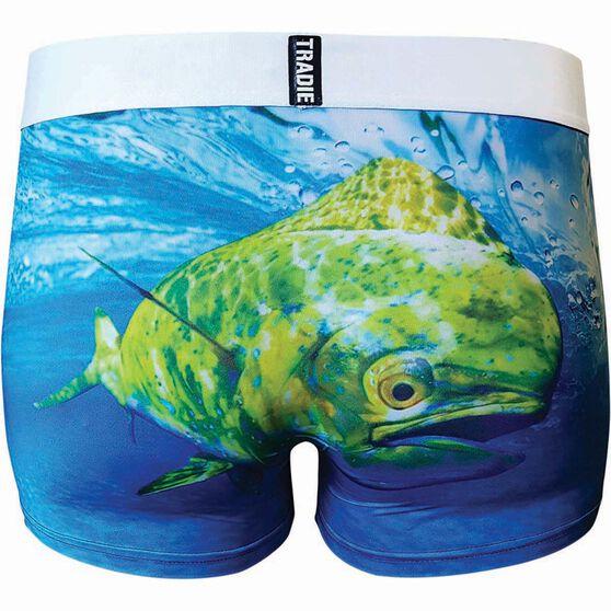 Tradie Men's Mahi Mahi Underwear Print S Men's, Print, bcf_hi-res