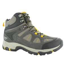 Hi-Tec Men's Altitude Lite Hiking Boots Charcoal / Grey / Gold 8, Charcoal / Grey / Gold, bcf_hi-res