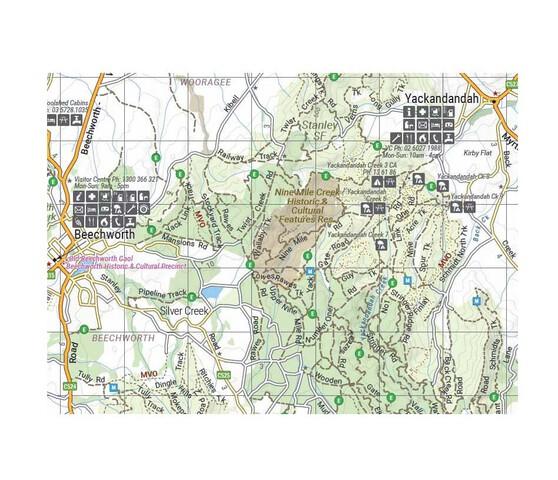 Hema High Country Vic - North West Map, , bcf_hi-res
