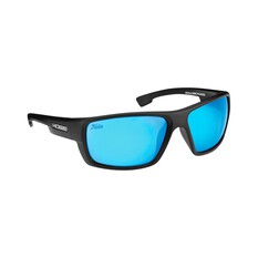 Hobie Mojo Sunglasses - Men's Satin Black / Cobalt Mirror Lens XL, , bcf_hi-res