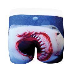 Tradie Mens Shark Attack Trunk, , bcf_hi-res