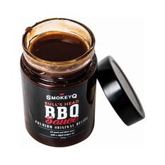 Smokey Q Bull's Head BBQ Sauce 380G, , bcf_hi-res