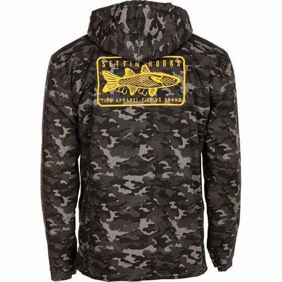 Tide Apparel Men's Hooked Up Jacket, Camo, bcf_hi-res