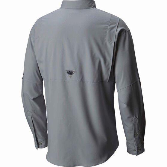 Columbia Men's Tamiami II Long Sleeve Shirt Grey Ash 2XL, Grey Ash, bcf_hi-res