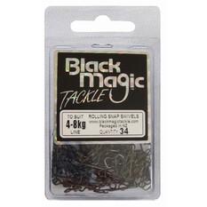 Black Magic Rolling Snap Swivel 34 Pack, , bcf_hi-res