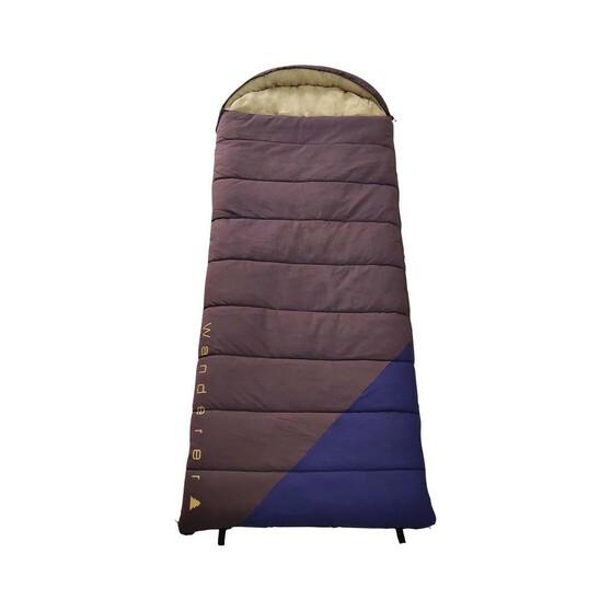 Wanderer Grand Macleay Cotton Hooded +6.9C  Sleeping Bag, , bcf_hi-res