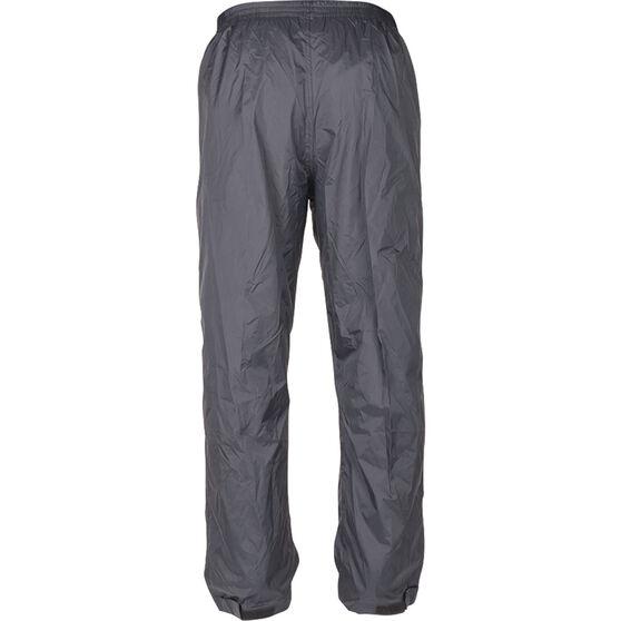 Explore 360 Unisex Rain Shell Pants Black XL, Black, bcf_hi-res