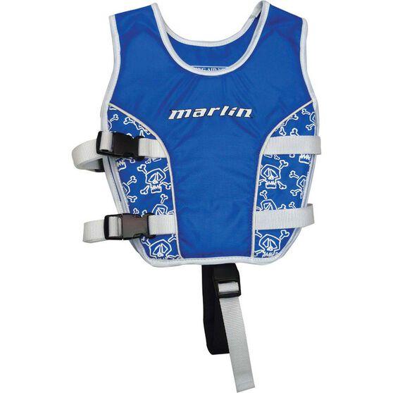 Marlin Australia Kids' Swim Vest Blue S, Blue, bcf_hi-res